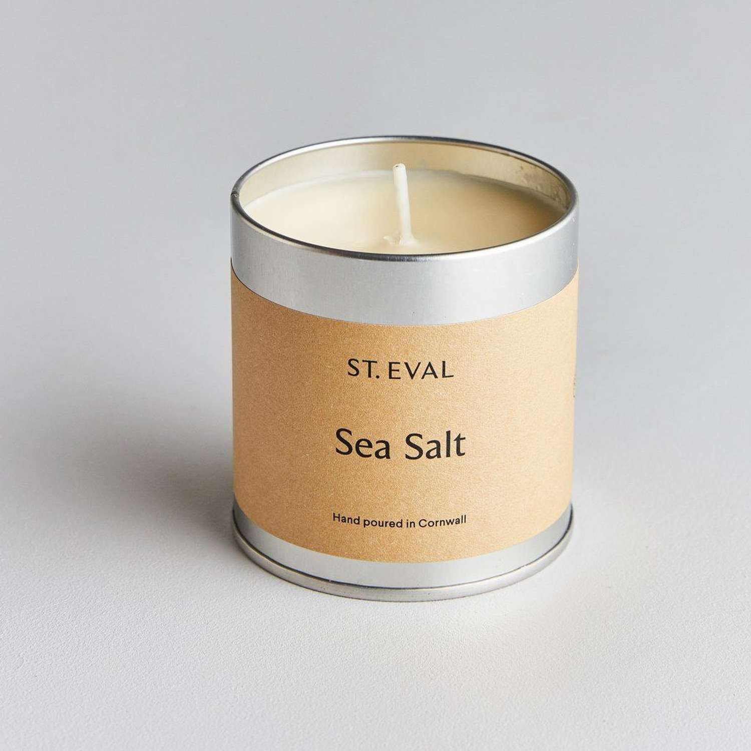 Морская соль St Eval candle co. свеча в металле