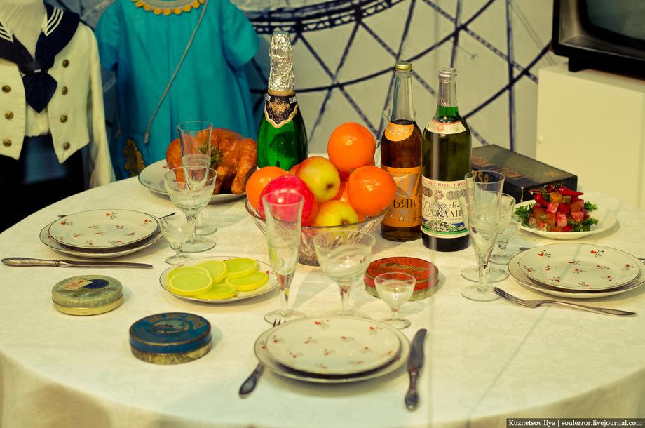 фото новогоднего стола в советском союзе актерского портфолио очень